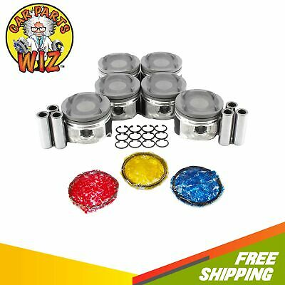 $ CDN303.70 • Buy Pistons And Rings Fits 93-98 Toyota Supra 3.0L L6 DOHC 24v 2JZGTE TURBOCHARGED