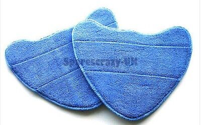 Microfibre Steam Mop Washable Cloth Pads To Fit Vax Type 1 Vax Models Pack Of 2 • 4.19£
