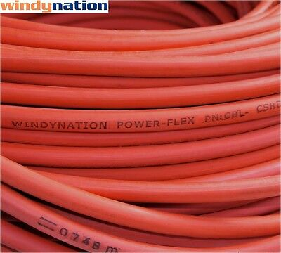 $ CDN110.72 • Buy 50' 2 Awg Red Welding Cable Gauge Copper Wire Battery Solar Rv Car Boat Leads
