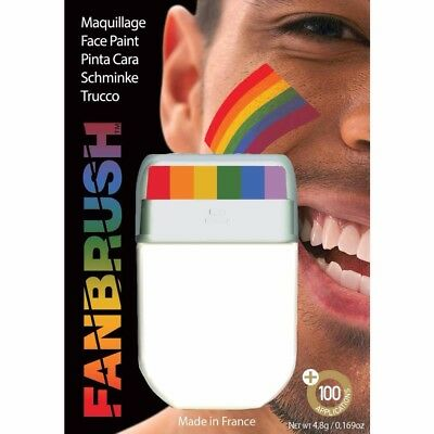 Rainbow Face Paint Painting Gay Pride Flag Multi Colours • 4.99£