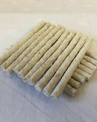 100 X TOP QUALITY RIVERSIDE NATURAL MUNCHY ROLL DOG CHEWS SUPER FAST DELIVERY • 6.50£