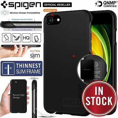 AU17.99 • Buy For Apple IPhone 8 7 6s Plus SE 2020 Case, SPIGEN Thin Fit Exact Slim Hard Cover