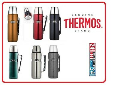 AU41.95 • Buy Thermos STAINLESS STEEL VACUUM Insulated King Beverage Bottle 1.2 L Litre 40 Oz