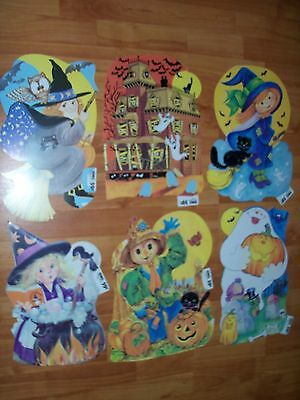 $ CDN13.30 • Buy Halloween Diecuts Cutouts Vintage Decorations HMS #315 To #320 U Pick NOT A LOT