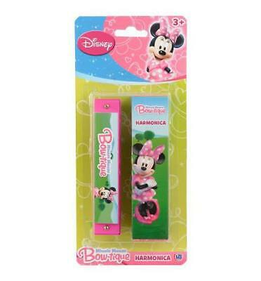 Disney Minnie Mouse Bowtique Pink Harmonica - Girls Novelty Musical Toy Gift  • 2.99£