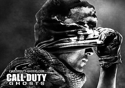 £4.99 • Buy Call Of Duty Ghosts Glossy Wall Art  Poster Print (a1 - A5 Sizes)
