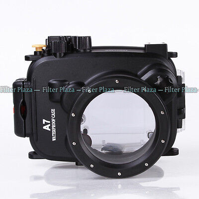 40M Waterproof Underwater Camera Housing Case For Sony A7 A7R A7S & 28-70mm Lens • 144.70£