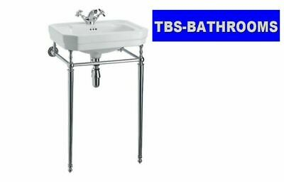 Burlington Victorian Ceramic Basin & Wash Stand, 1, 2 Or 3 Tap Holes • 450.63£