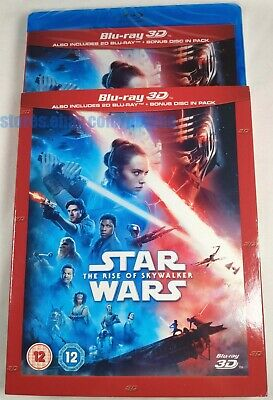 AU51.12 • Buy STAR WARS: THE RISE OF SKYWALKER New 3D + 2D Blu-ray W/ SLIPCOVER Episode IX 9