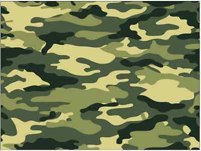 £2 • Buy Camouflage Army Cake Topper Edible Wafer Paper  FULL A4 Sheet