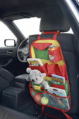 £8.99 • Buy Sumex Branded Cars Back Seat Child Travel Organizer Tidy Bag With Multi Pockets