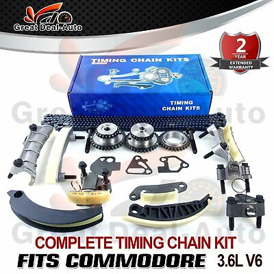 AU219.70 • Buy Timing Chain Kit & Gears Fits Holden Commodore Vz Ve Vf V6 3.6l 3.0l Greatdeal