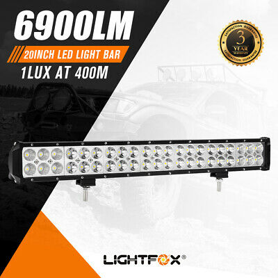 AU35.95 • Buy 20inch Cree Led Light Bar Flood Spot Combo Offroad Work Driving 4WD Truck