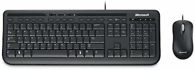 AU42.95 • Buy Microsoft Wired Desktop 600 USB Keyboard And Mouse Combo Membrane Standard