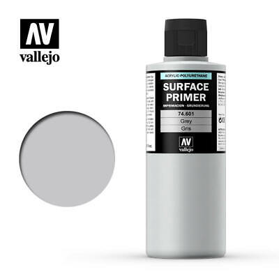 Vallejo Airbrush Paint - Model Air - Surface Primer Grey 200ml - 74.601 • 12£