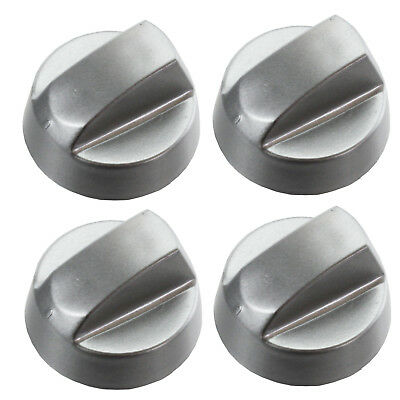 BAUMATIC Zanussi Belling Chrome Oven Knob Silver Gas Hob Cooker Switch Knobs • 9.29£