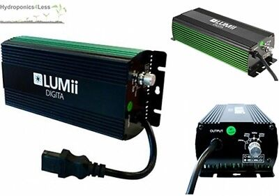 LUMii Digita 250w 400w 600w 1000w Digital Dimmable Ballast Light HPS MH • 179.99£