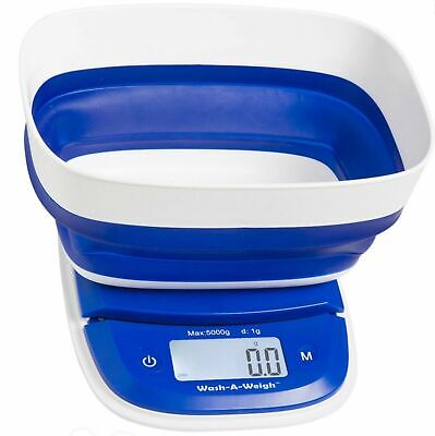 £23.99 • Buy On Balance Portable Digital Scales 2000g Accurate - 0.1g  Washable Foldable Bowl