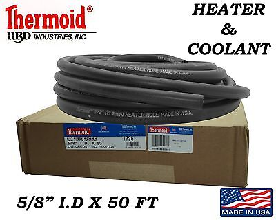 $59.94 • Buy 1 - 5/8  X 50 Ft Heater Hose Coolant Hose Replacement Hbd Thermoid Made In Usa