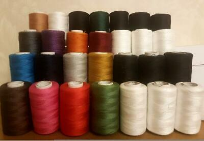 12 Viscose Rayon Machine Silk / Art Thread Most Basic Colors Janome Brother 2500 • 21.99£