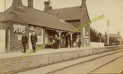 Snettisham Railway Station Photo. Dersingham - Heacham. Hunstanton Line (7) • 3.50£