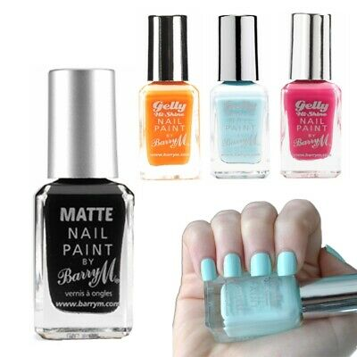 £4.29 • Buy Barry M MakeUp - Nail Paint Nail Varnish Gelly Effects Collection Colours Shade