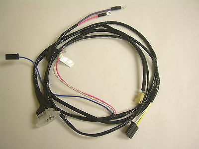 1962-1966 nova chevy ii engine starter wiring harness v8 with warning  lights • 84 95