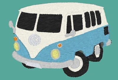 VW Split Screen Camper Embroidered On Polo Shirt • 16.50£