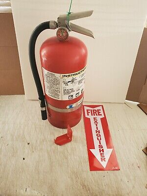 $50 • Buy Fire Extinguisher - 10Lb ABC Dry Chemical  [SCRATCH&DENT]