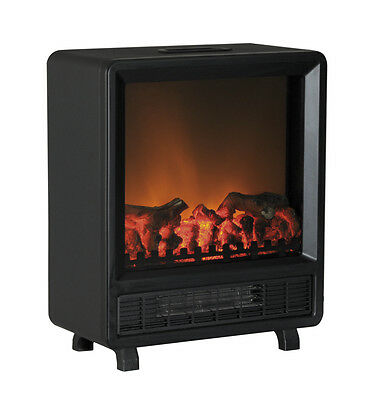 Prem-i-Air 1.5 KW Log Flame Effect Fireplace Electric Fan Heater Heating Stove • 59.99£