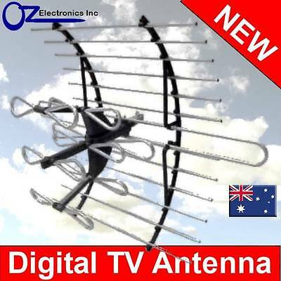 AU29.95 • Buy Digital TV Outdoor Antenna UHF VHF FM 4 AUSTRALIAN Conditions Country Areas NEW
