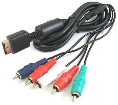HD Component AV Audio Video Cable HDTV Lead For Sony Playstation PS2 PS3 • 9.99£