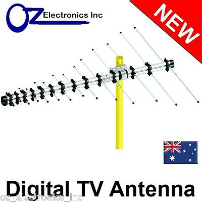 AU39 • Buy Digital TV Outdoor Antenna UHF VHF FM 4 AUSTRALIAN Conditions Country Areas LPD-