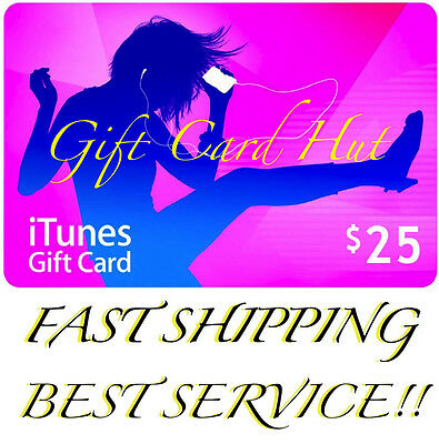 AU53.99 • Buy $25 US ITUNES CARD Gift Voucher Certificate Apple USA USD ITune 100% Genuine