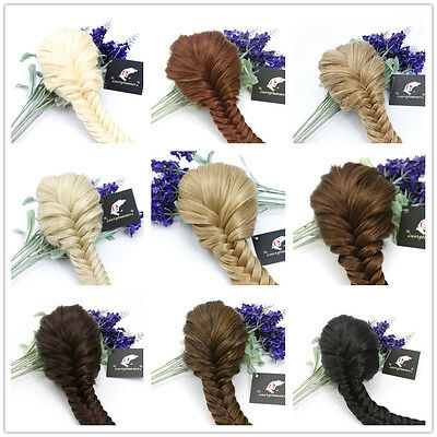 £13.99 • Buy Superior Quality Clip In Fishtail Plaited Pony Tail Hair Extension Piece Braid