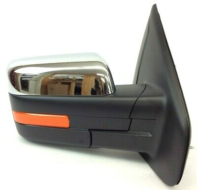 $385.25 • Buy 2011-2013 Ford F-150 Chrome Power Fold Heat Passenger Side View Mirror OEM