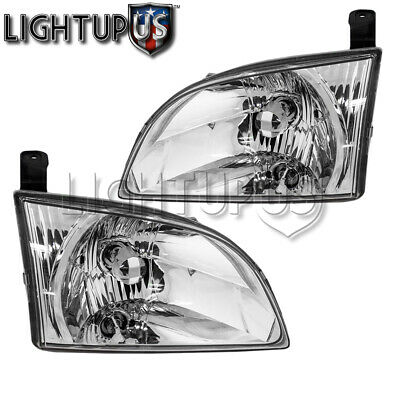 $65.03 • Buy Left Right Side Pair Halogen Headlights For 2001-2003 TOYOTA SIENNA
