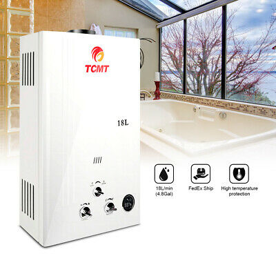 £100.58 • Buy 18L 4.8GPM Tankless LPG Liquid Propane Gas House Instant Hot Water Heater Boiler