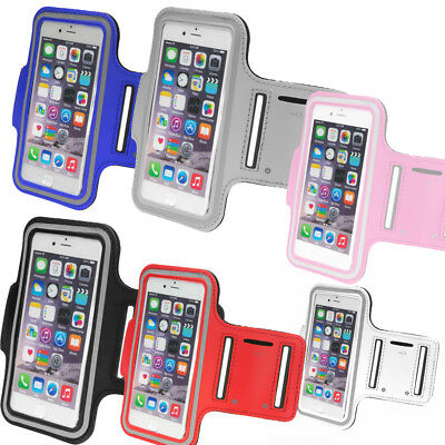 IPhone Gym Running Armband Jogging Sports Exercise Holder Strap For Apple Mobile • 3.99£
