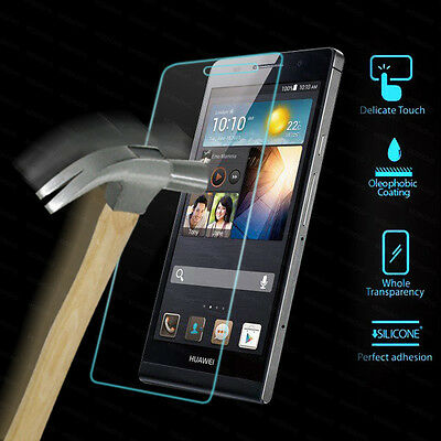AU7.59 • Buy Tempered Glass Screen Protector Film Case Huawei Ascend G6 / P7 / G730 / G510