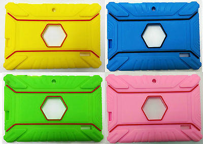 £5.84 • Buy Heavy Duty 7  Inch Silicone Rubber Case For Android Tablet Allwinner A13 A23 Q88