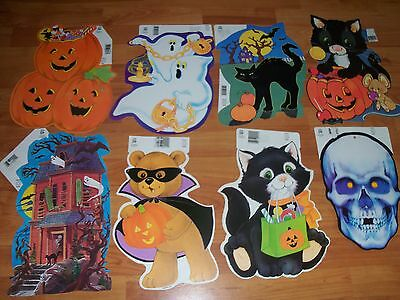 $ CDN10.88 • Buy Halloween Diecuts Cutouts Vintage Eureka Decorations U Pick NOT A LOT