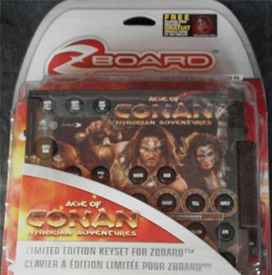 £7.20 • Buy Steelseries / Ideazon ZBoard Age Of Conan Limited Ed Gaming Keyset -BRAND NEW
