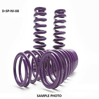 $150 • Buy D2 PRO Lowering Springs 1.4 F/1.4 R For 2004-2008 Nissan Maxima - D-SP-NI-08