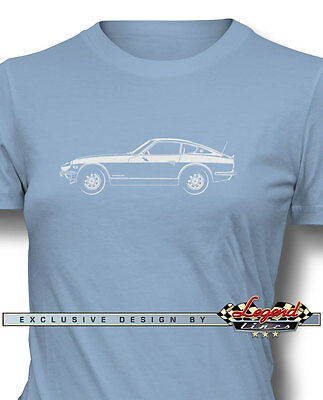 $21.90 • Buy Datsun 240Z 260Z 280Z Coupe T-Shirt For Women - Multiple Colors And Sizes