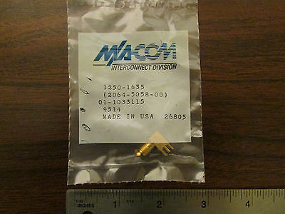 $3.95 • Buy M-A/COM 1250-1635 PCB Mount SMA Female Connector New