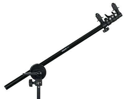 Phot-R 175cm Collapsible Studio Reflector Holder Boom Arm Grip Photo Light Stand • 20.99£