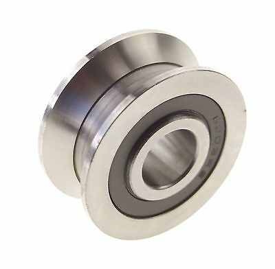 AU6.41 • Buy 6*30*8mm V Groove Width 5.5mm Guide Pulley Sealed Rail Ball Bearings