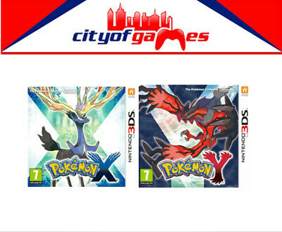 AU134.95 • Buy Pokemon X & Y Nintendo 3DS New & Sealed In Stock