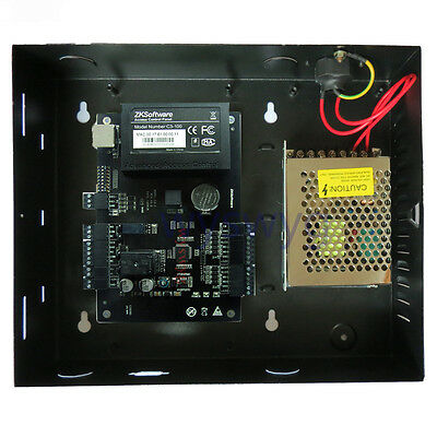 AU195.32 • Buy Single Door TCP/IP RFID Board Access Control 110V-240V Power Supply ZKTeco C-100